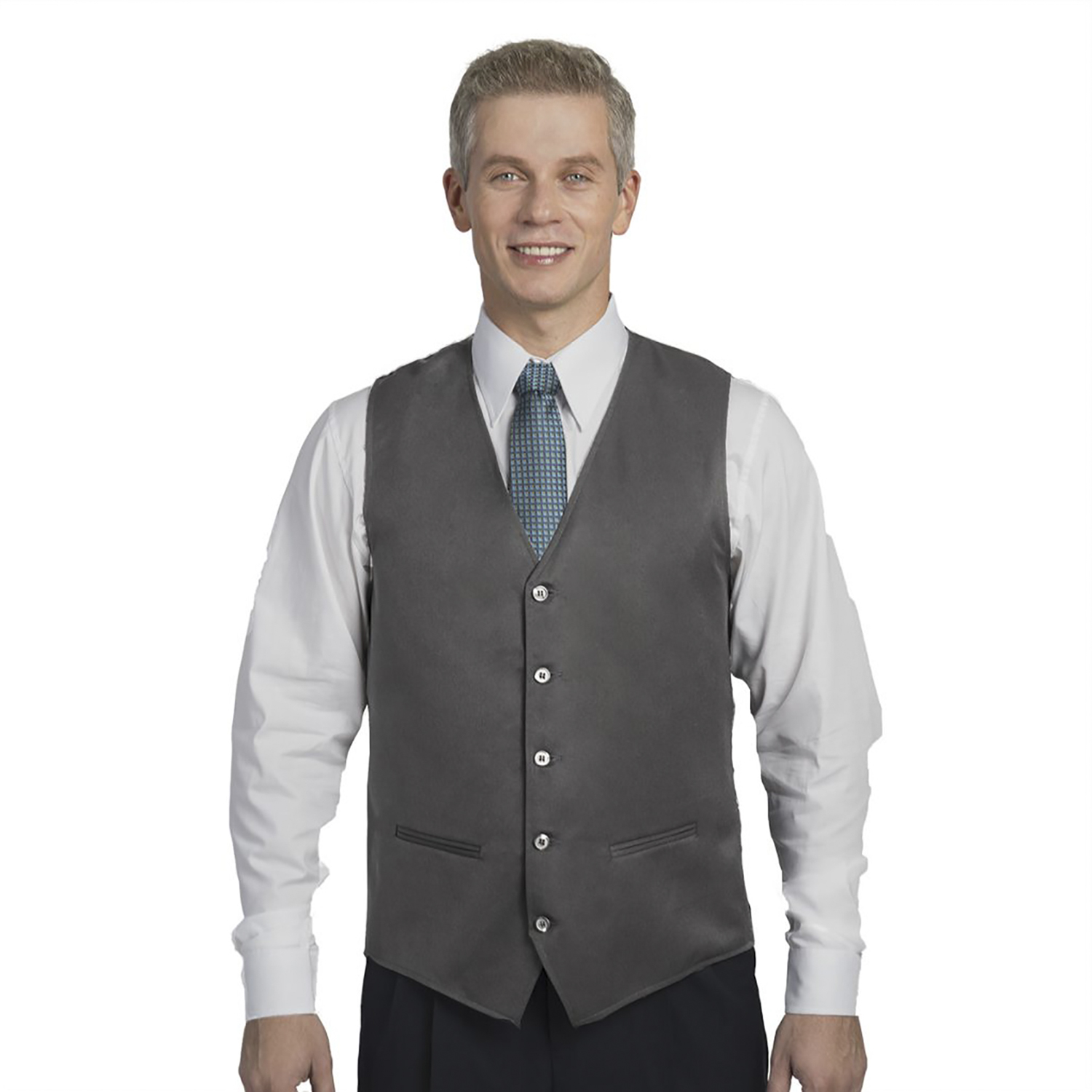 Executive Apparel Men's V Neck Vest