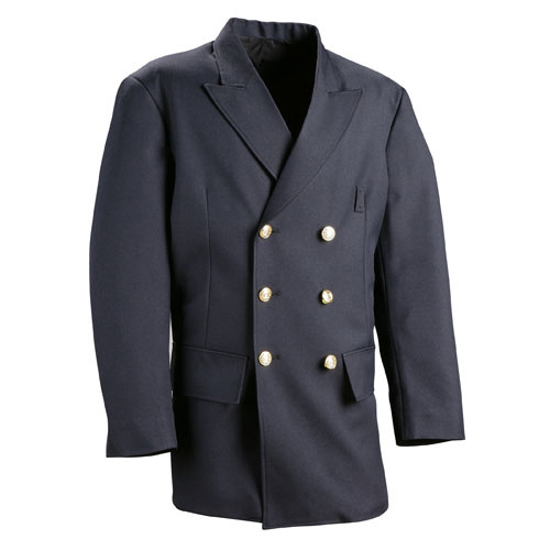 Flying Cross Double Breasted Dress Coat