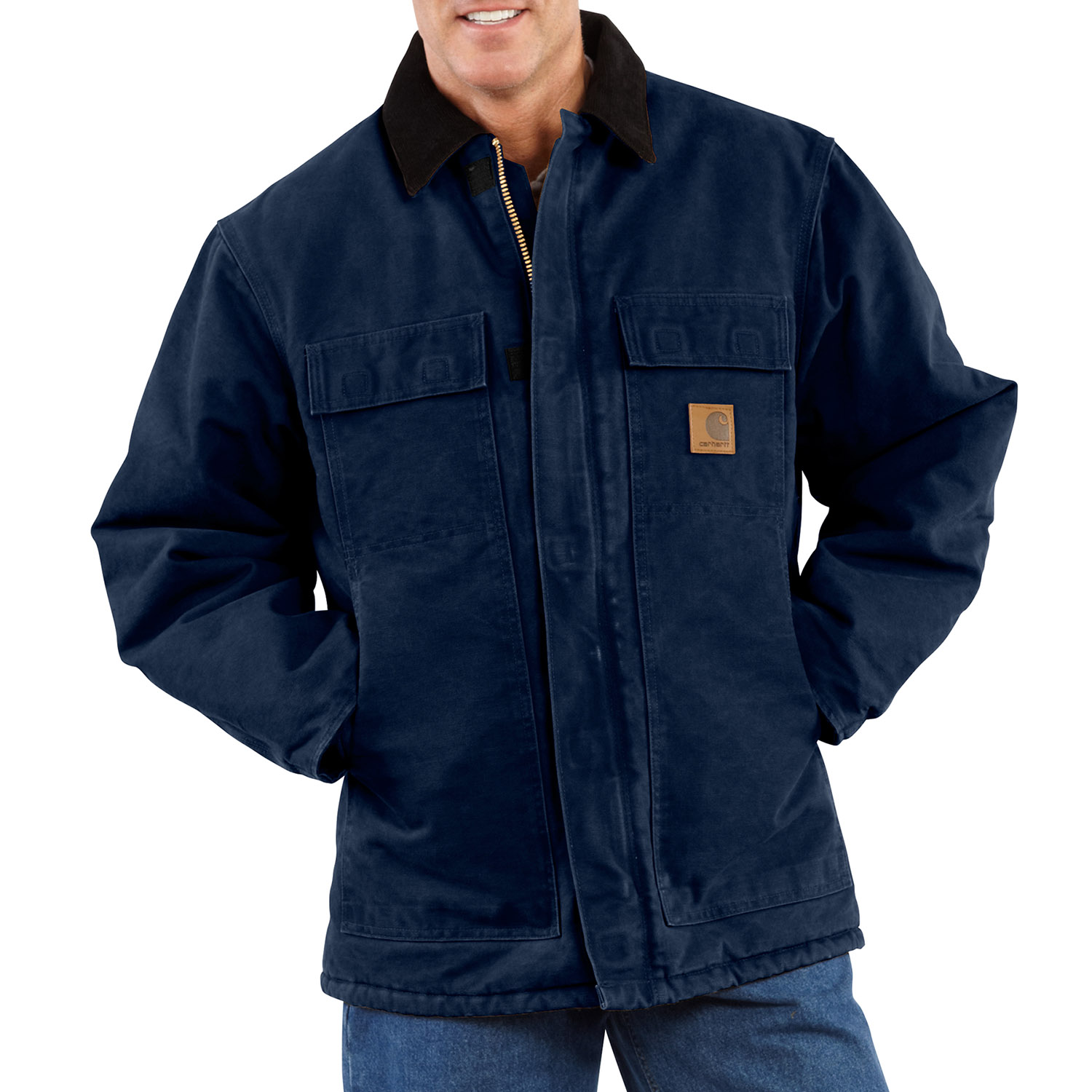 Carhartt Men's Sandstone Traditional Arctic Quilt Lined Coat