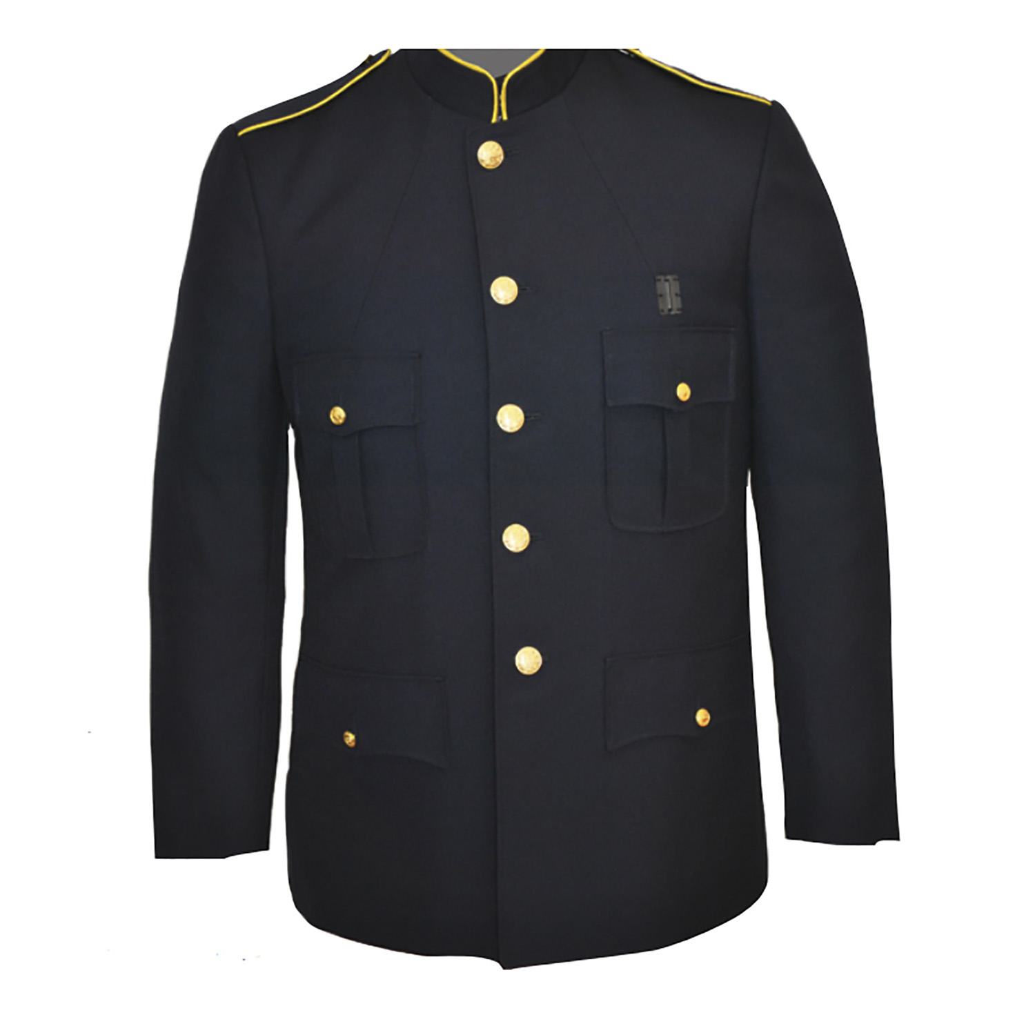 Mens 32IN Poly Wool Single Breasted Honor Guard Dress Coat