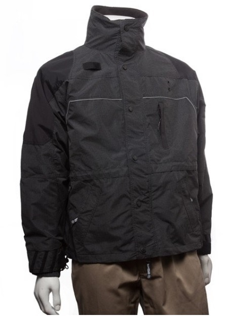 BackAtcha Apparel Mens Reflective Ascent parka w/ Zip Out L