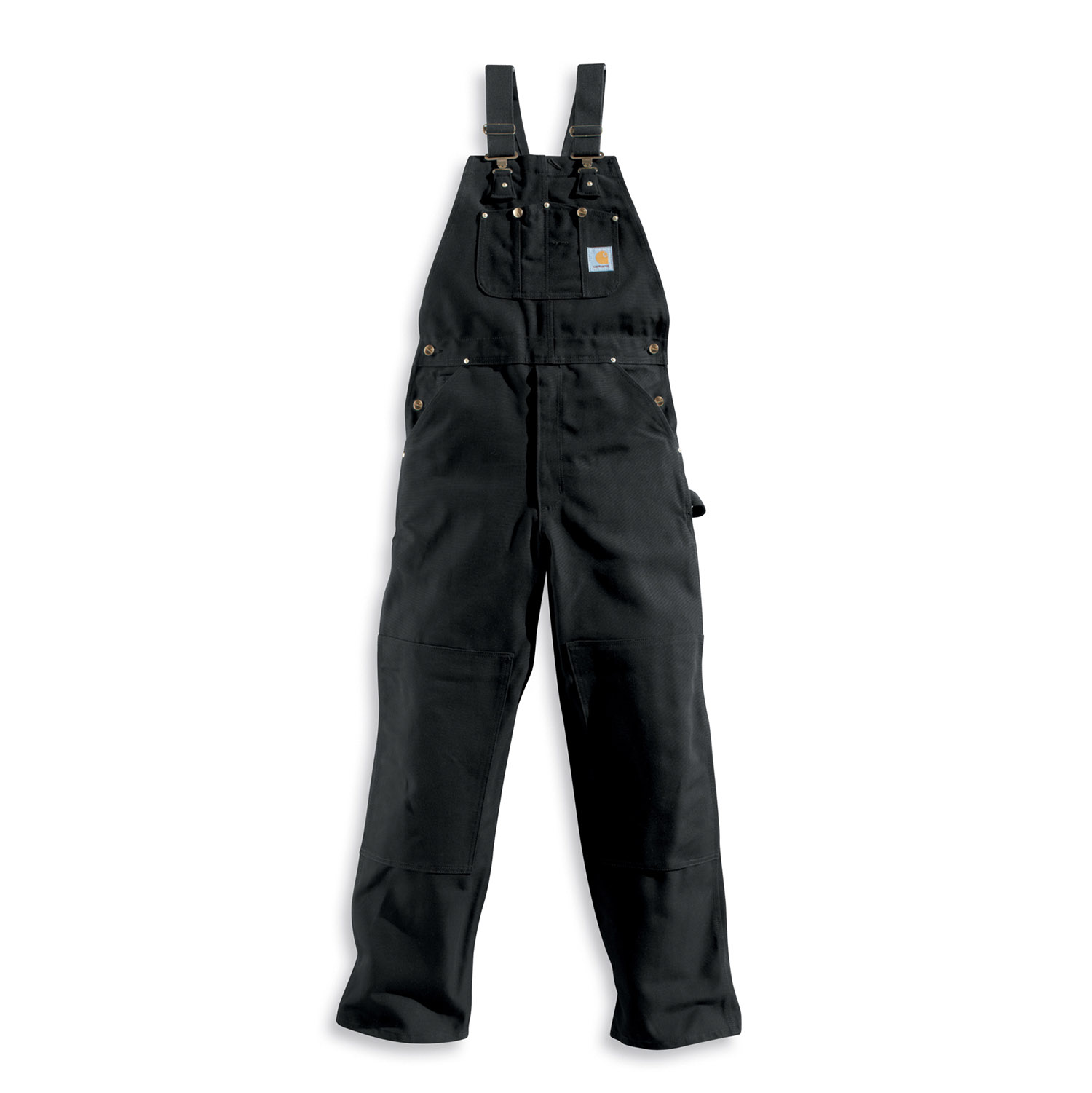 4431a7707af Carhartt Men's Unlined Duck Bib Overalls