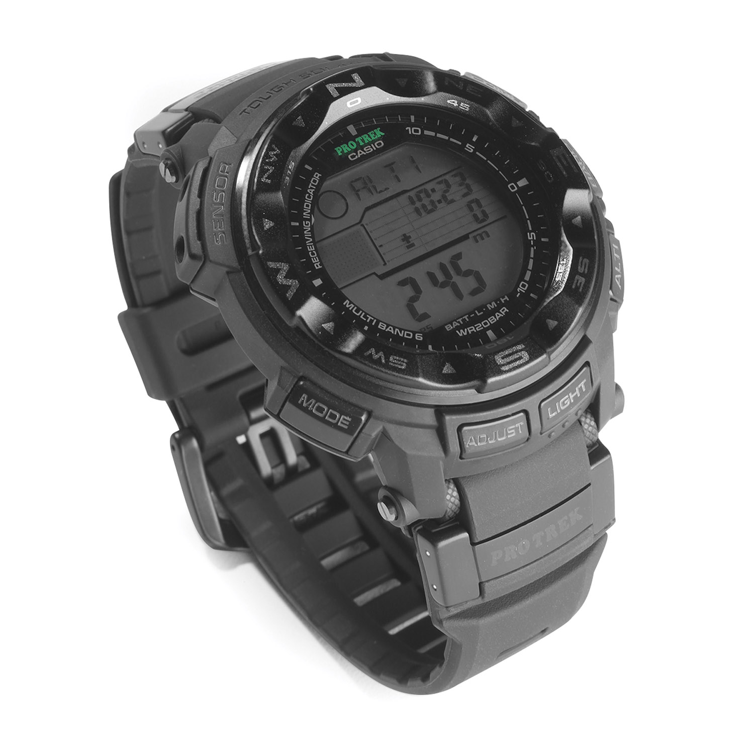 Casio Pro Trek Atomic Solar Triple Sensor Watch