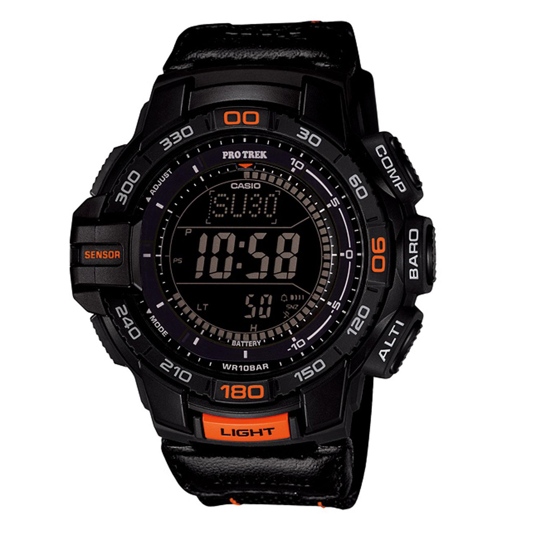 casio pro trek tough solar triple sensor tactical watch On pro trek tough solar