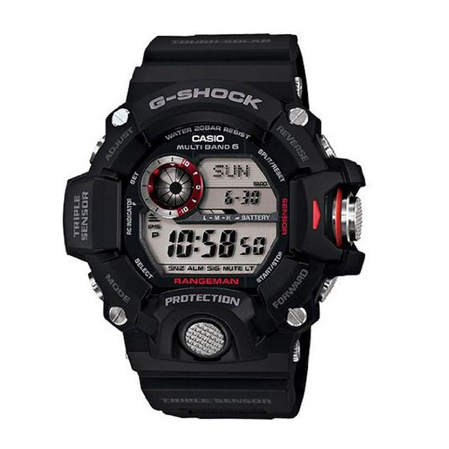check out 61c78 87518 Casio G Shock Rangeman Tactical Watch.