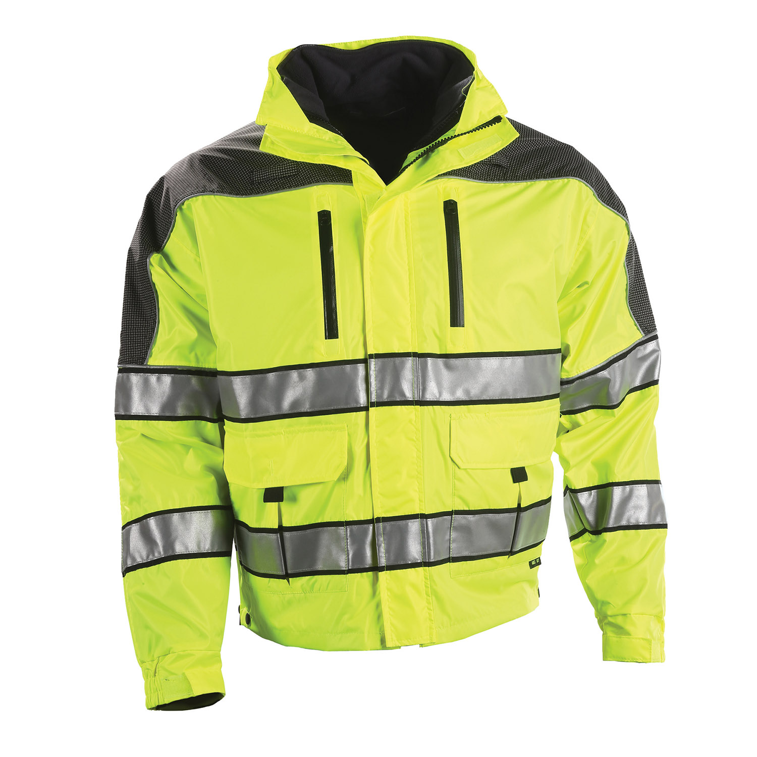 Gerber Outerwear Eclipse SX Lime Jacket with Warrior Softshe