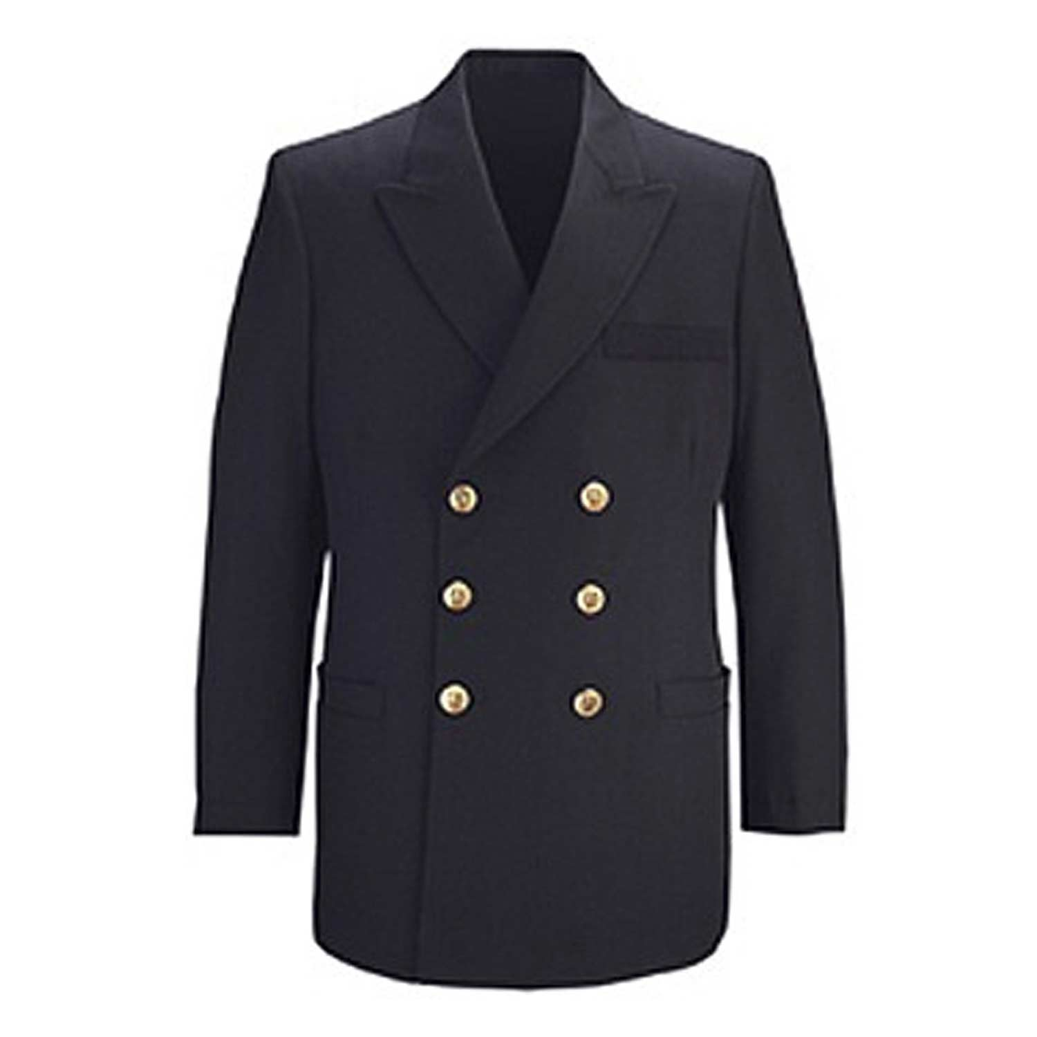 Flying Cross Men's Naval Officer Double Breasted Coat