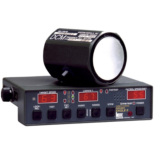 Kustom signals inc | products | radar | eagle ii family.