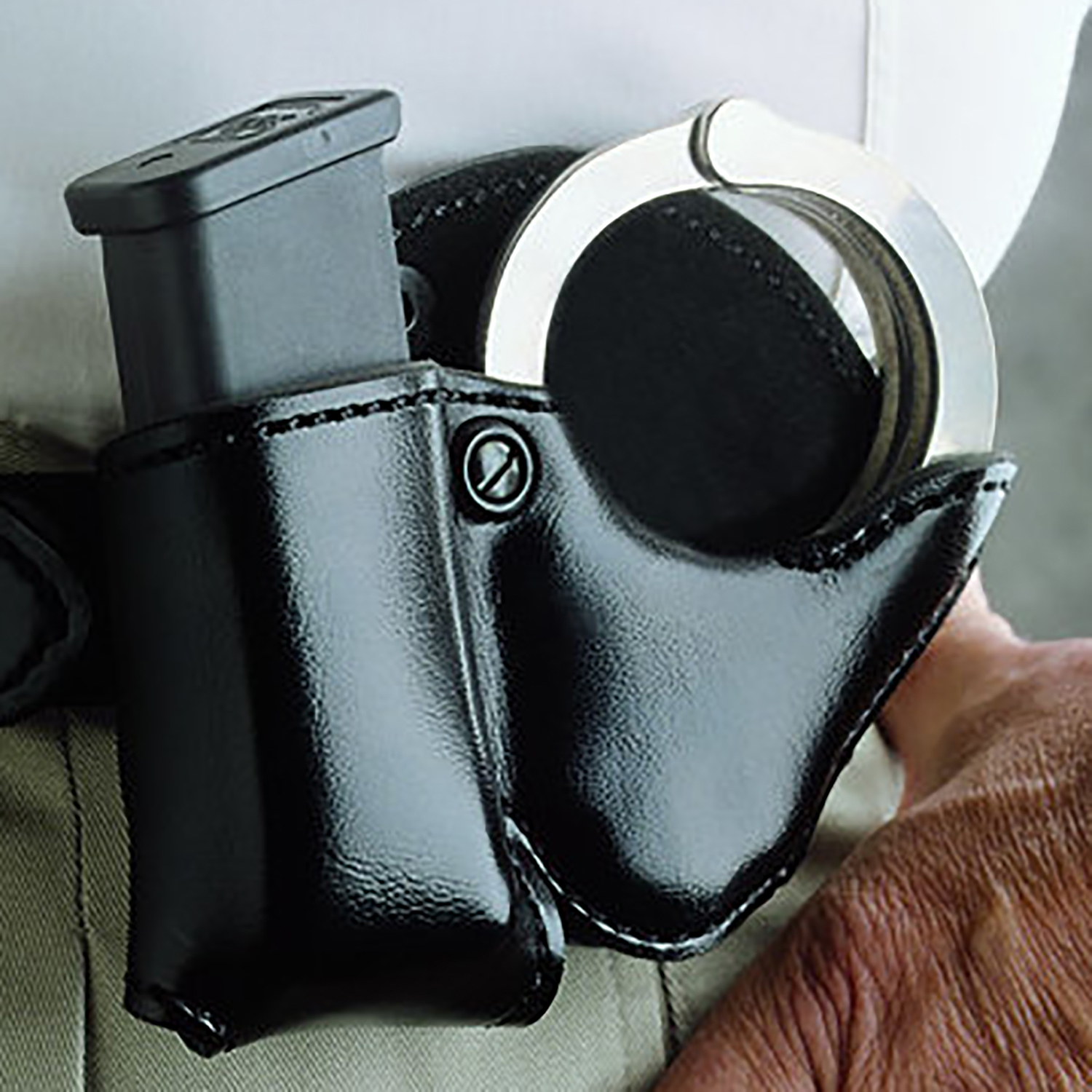 DeSantis Double Play Cuff and Magazine Pouch