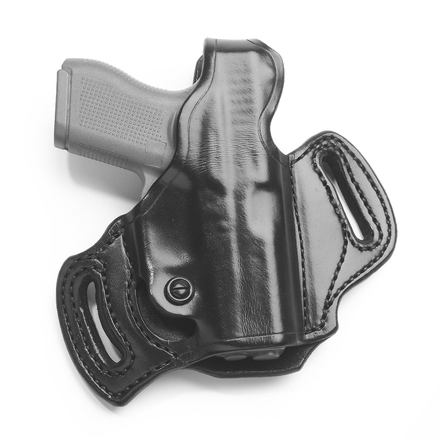 Aker Flatsider Belt Slide Holster with Thumb Break