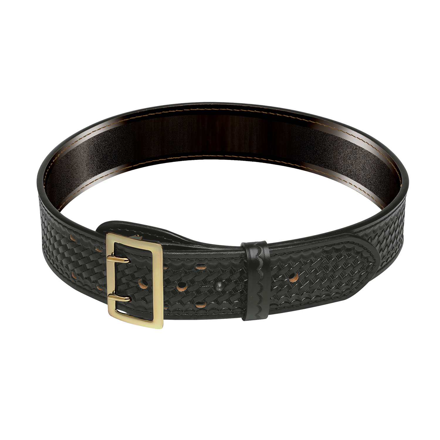 LawPro Leather Sam Browne Belt