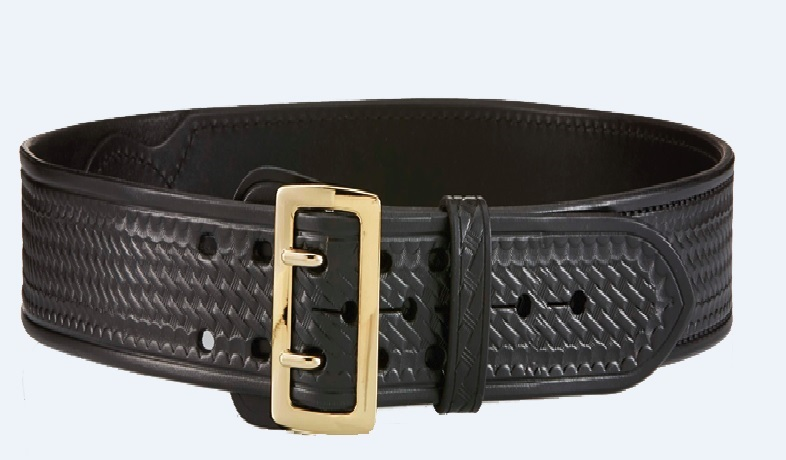 Aker Leather Sam Browne Lined Belt