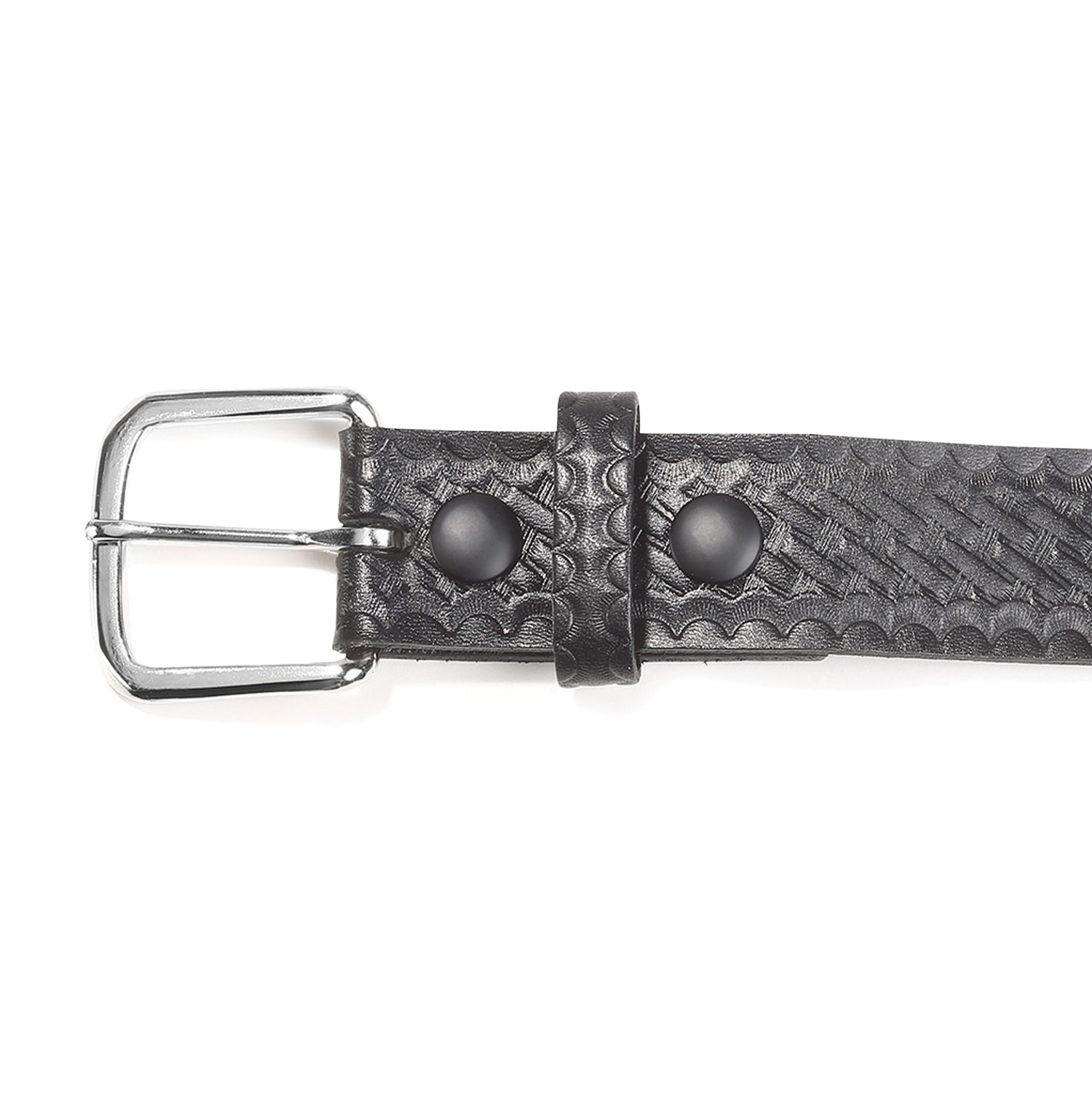 "Boston Leather 1 1/2"" Leather Garrison Belt"