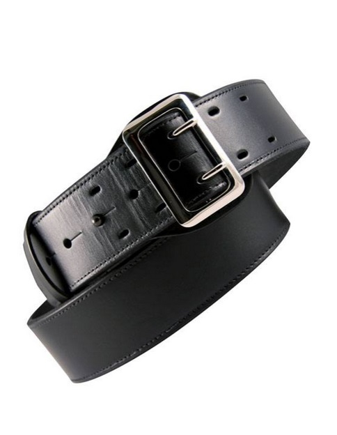 Boston Leather Plain Duty Belt