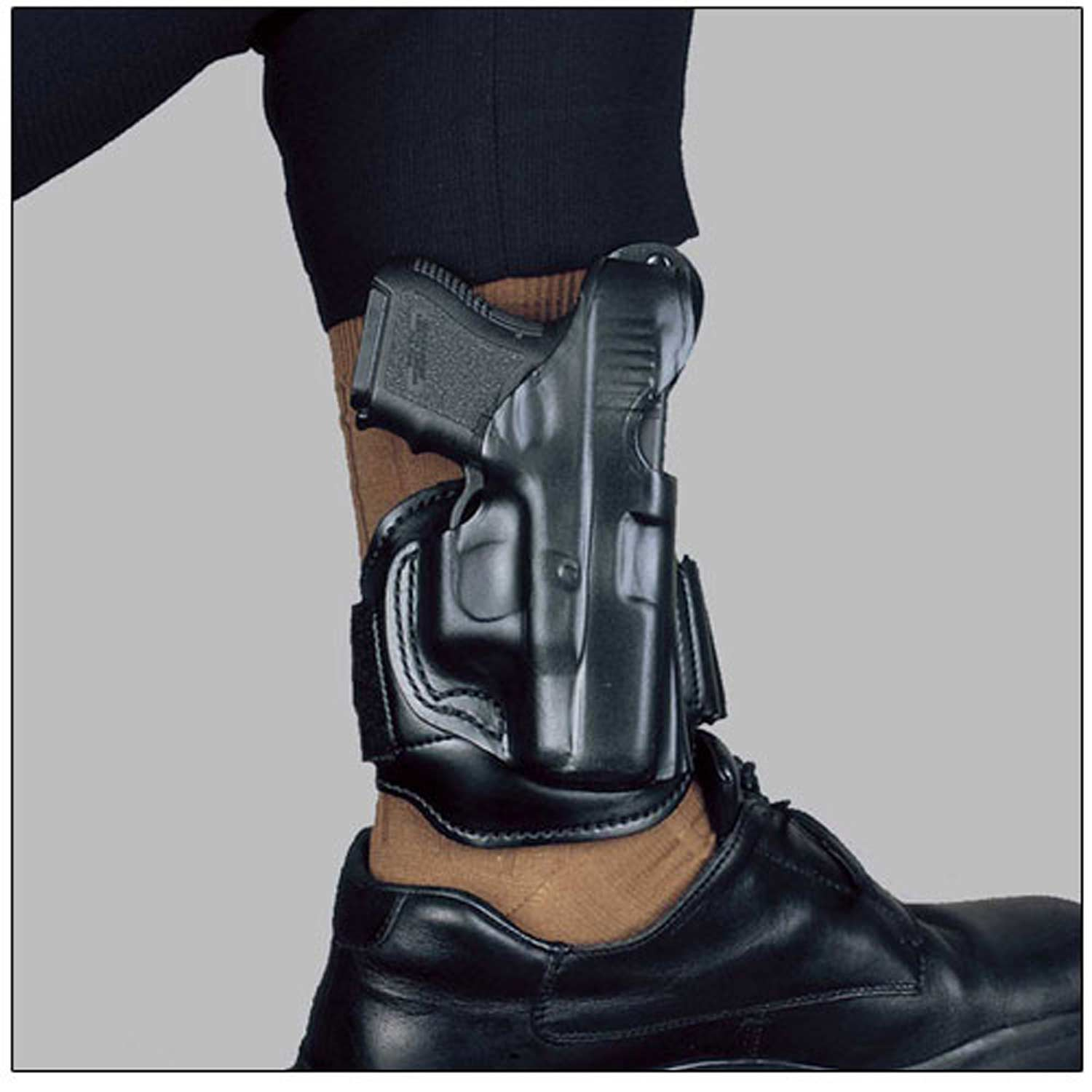 DeSantis Leather Ankle Rig Holster