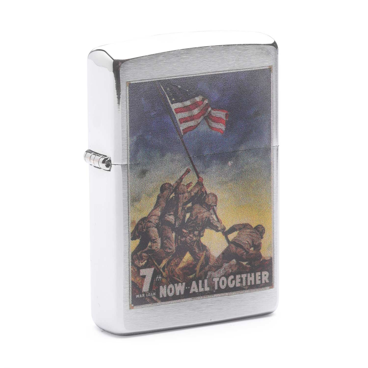 Zippo Marine Corps Now All Together Lighter