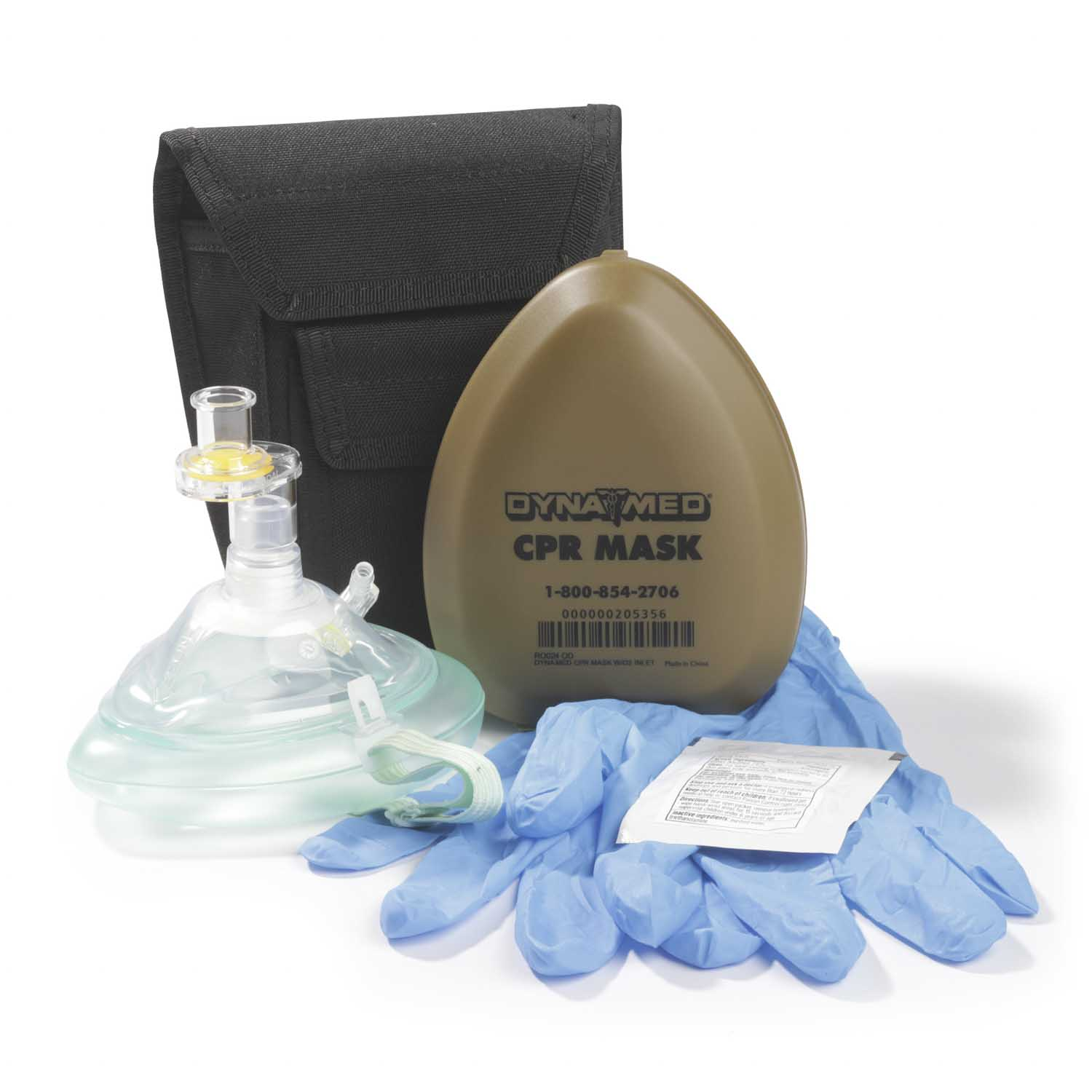 DYNAMED CPR HOLSTER KIT W/ O2 INLET