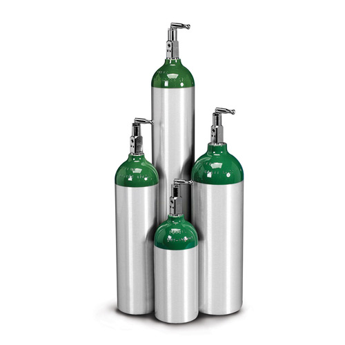 Allied Healthcare Products Aluminum Oxygen C Cylinder