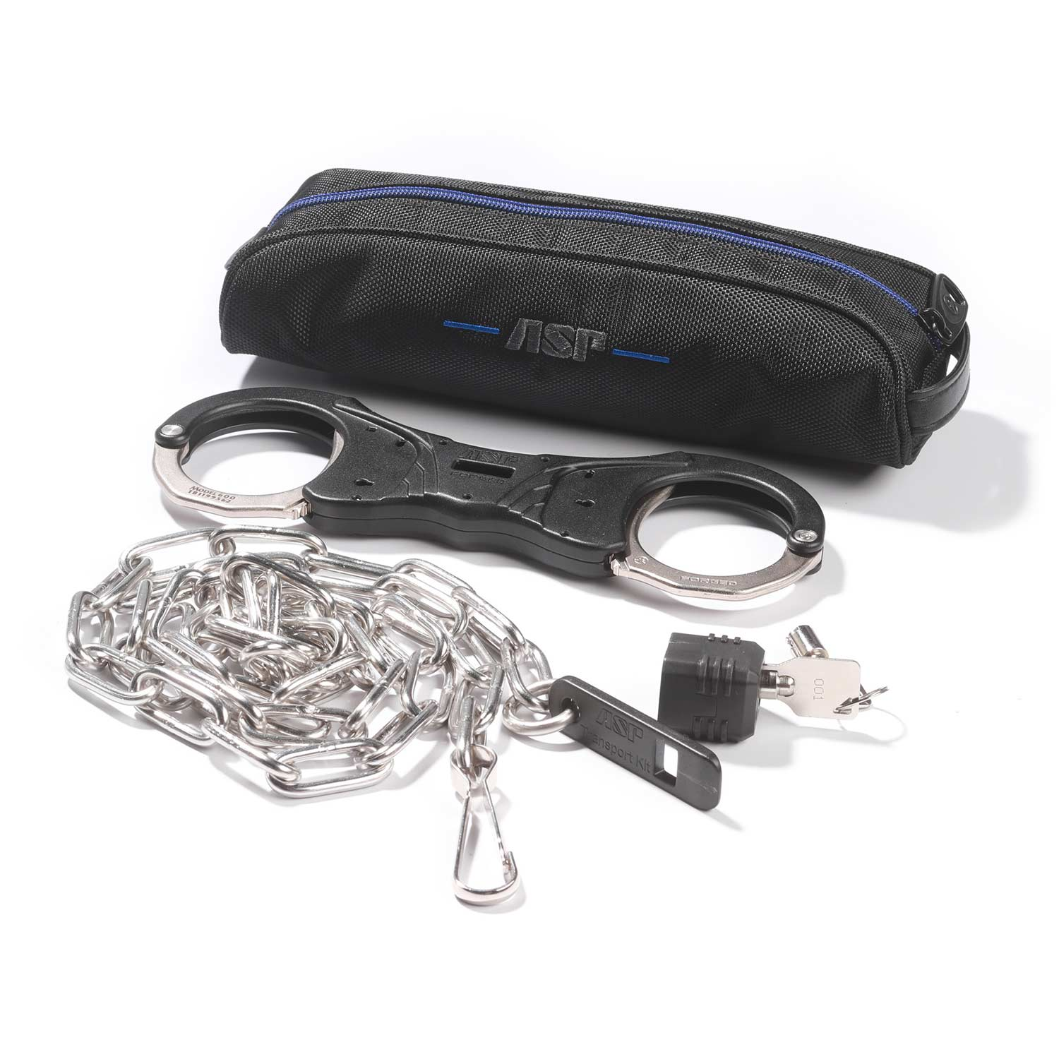 ASP Transport Kit with Rigid Ultra Cuffs and Chain