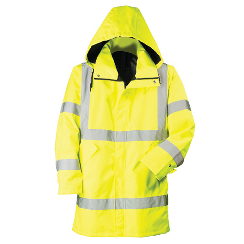RW115 - Mesh-lined Systems Raincoat (Class 3)
