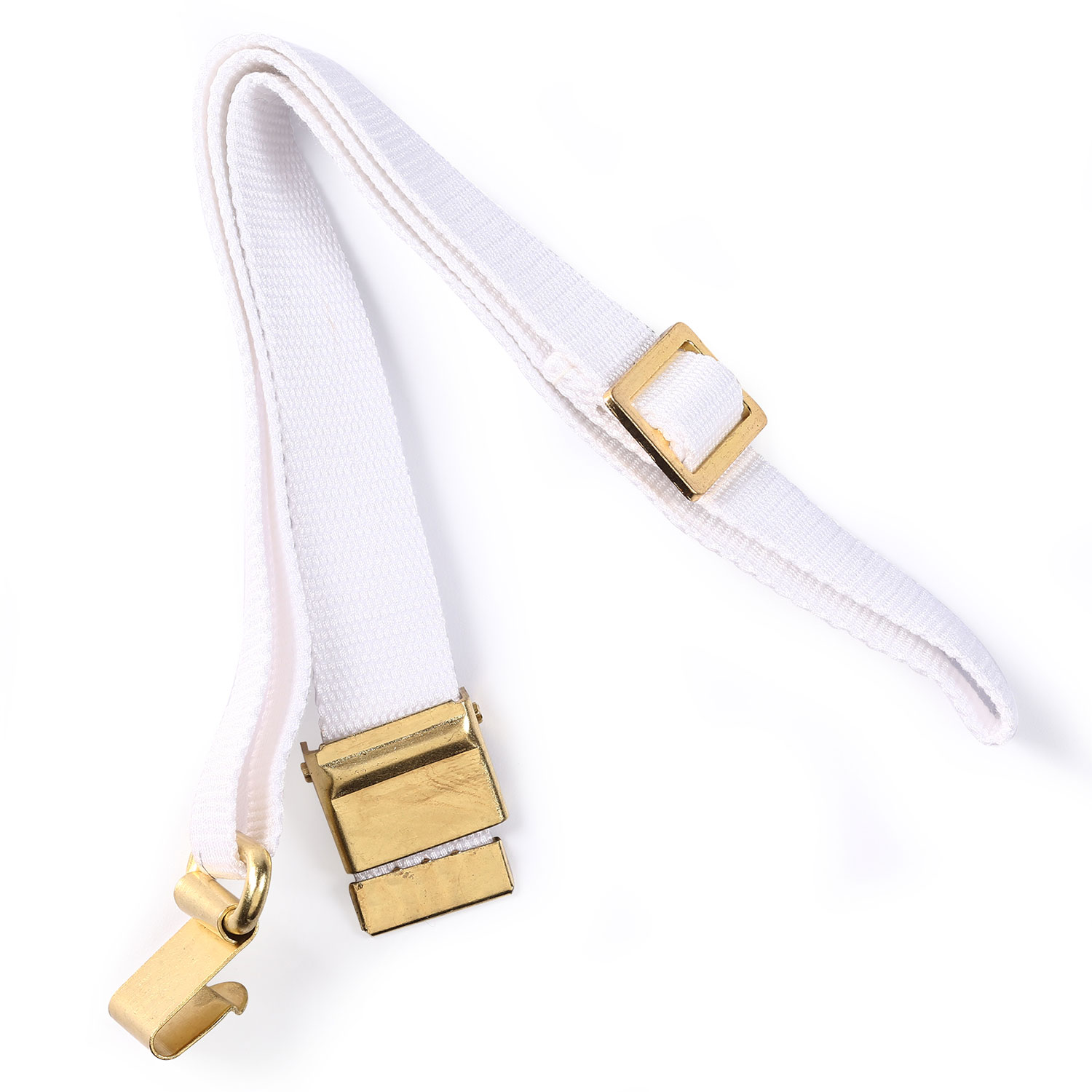 Parris MFG White Web Rifle Sling for Parade Drill Replica Ri