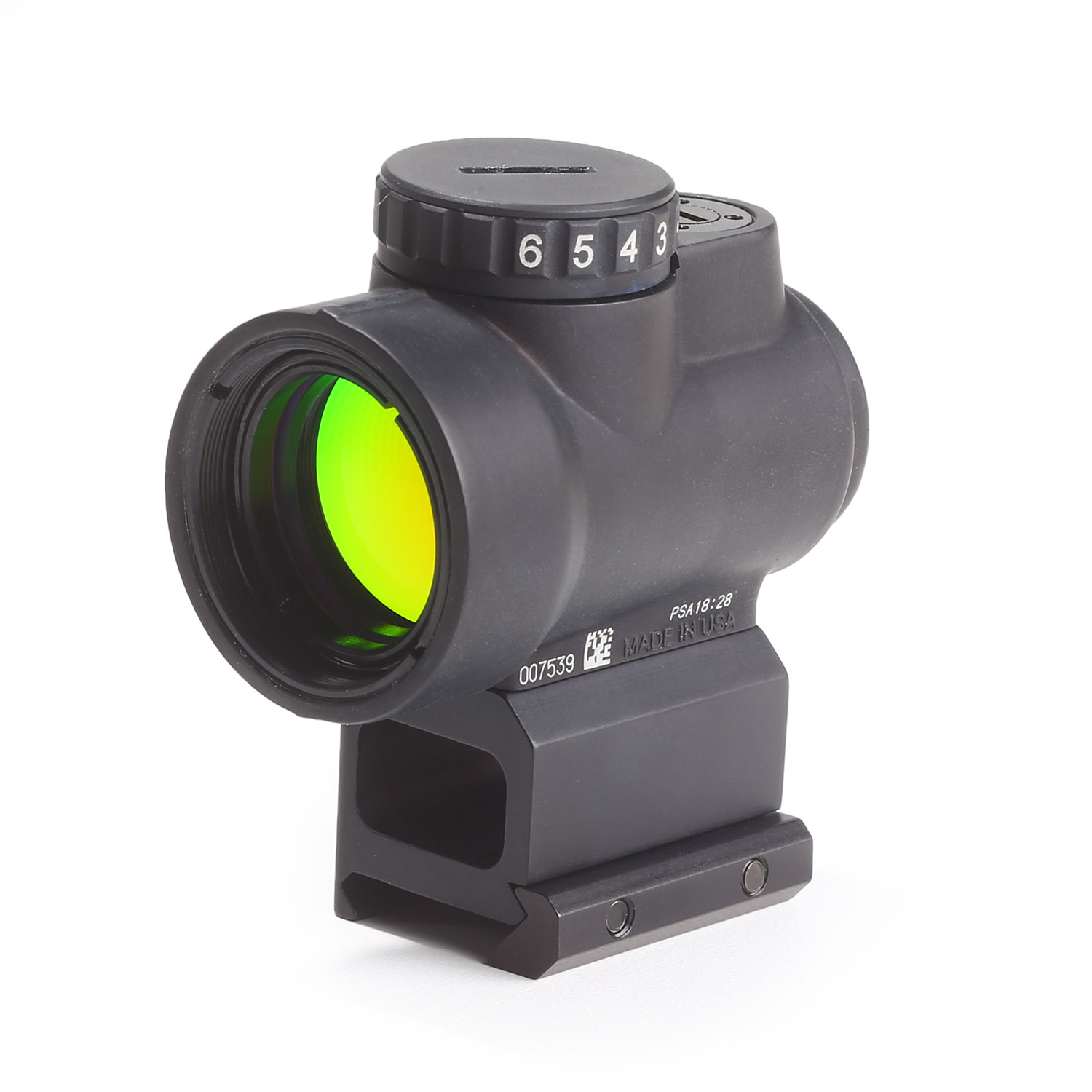 Trijicon MRO Adjustable Red Dot with Co Witness Mount
