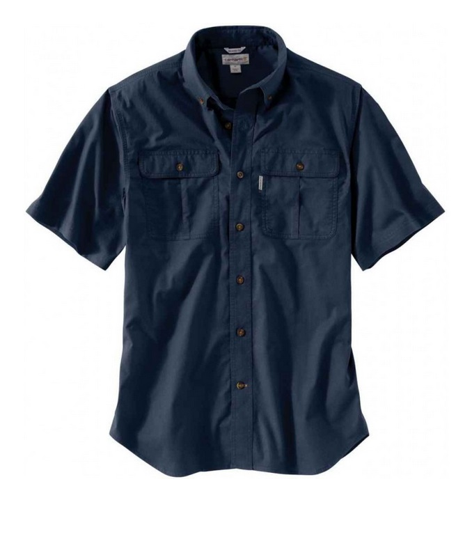 CARHARTT FOREMAN SOLID SS CANVAS WORK SHIRT