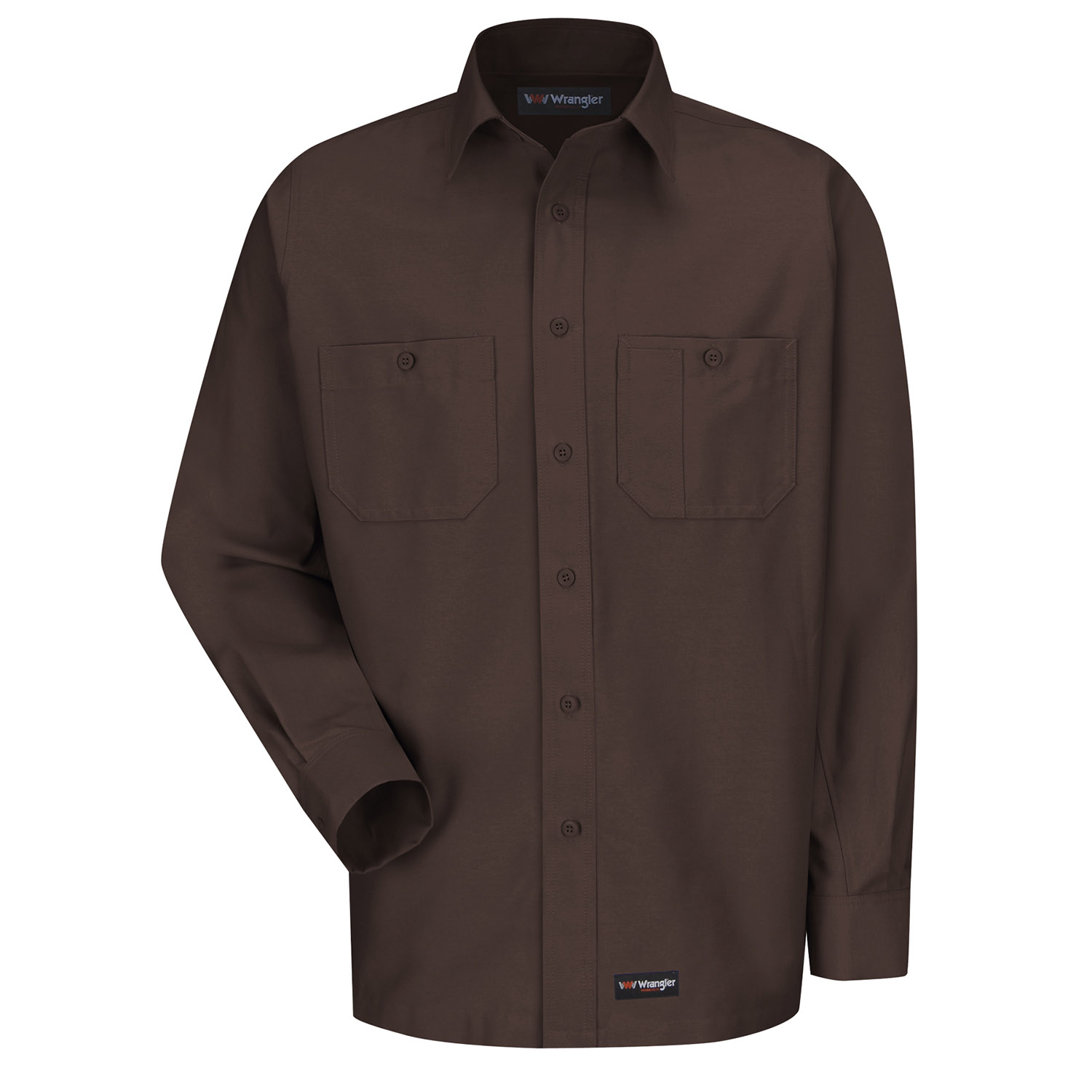 Wrangler Men's Canvas Long Sleeve Workshirt