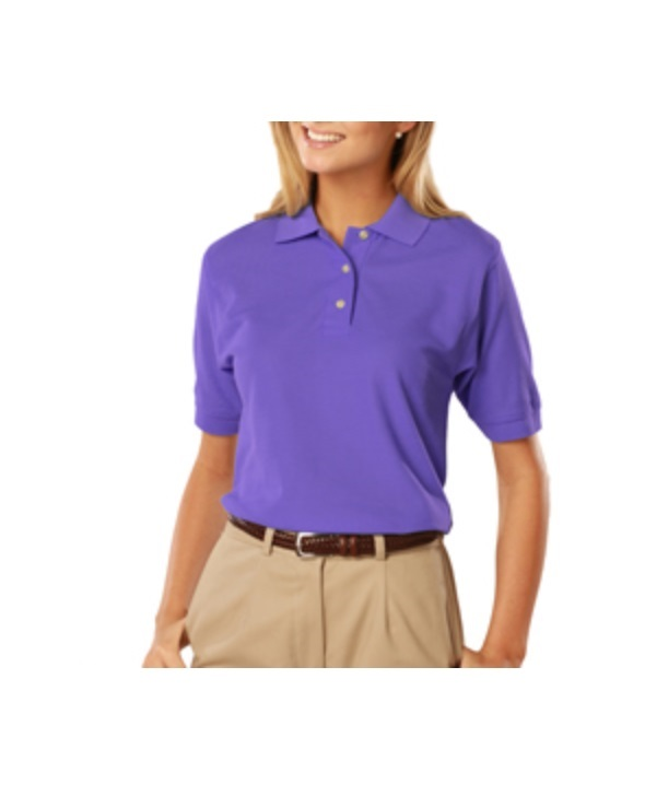 BLUE GENERATION LADIES SS PIQUE POLO
