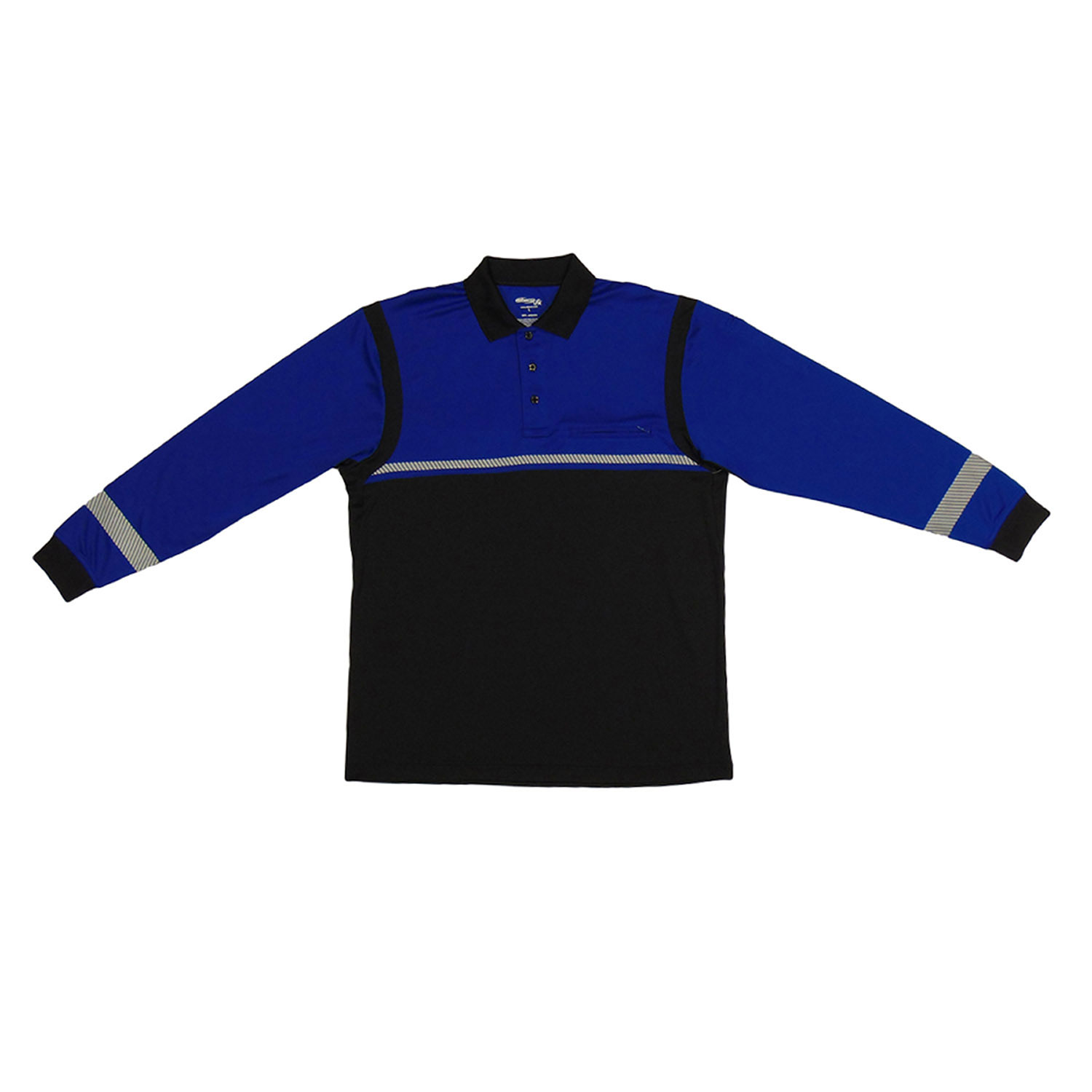 Elbeco UFX Ultra-Light Long Sleeve Color Block Polo