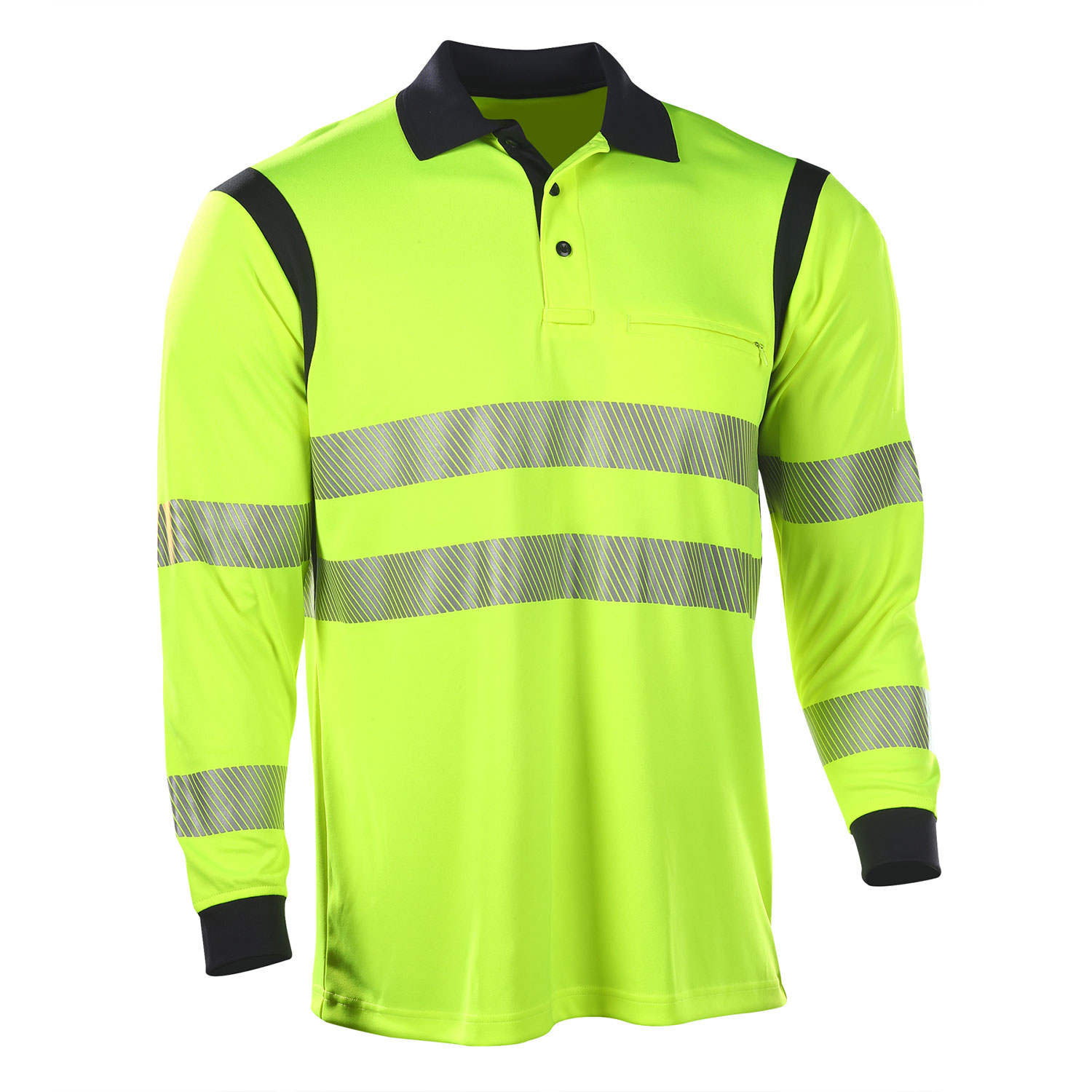 Elbeco UFX Ultra-Light Long Sleeve Hi Vis Polo