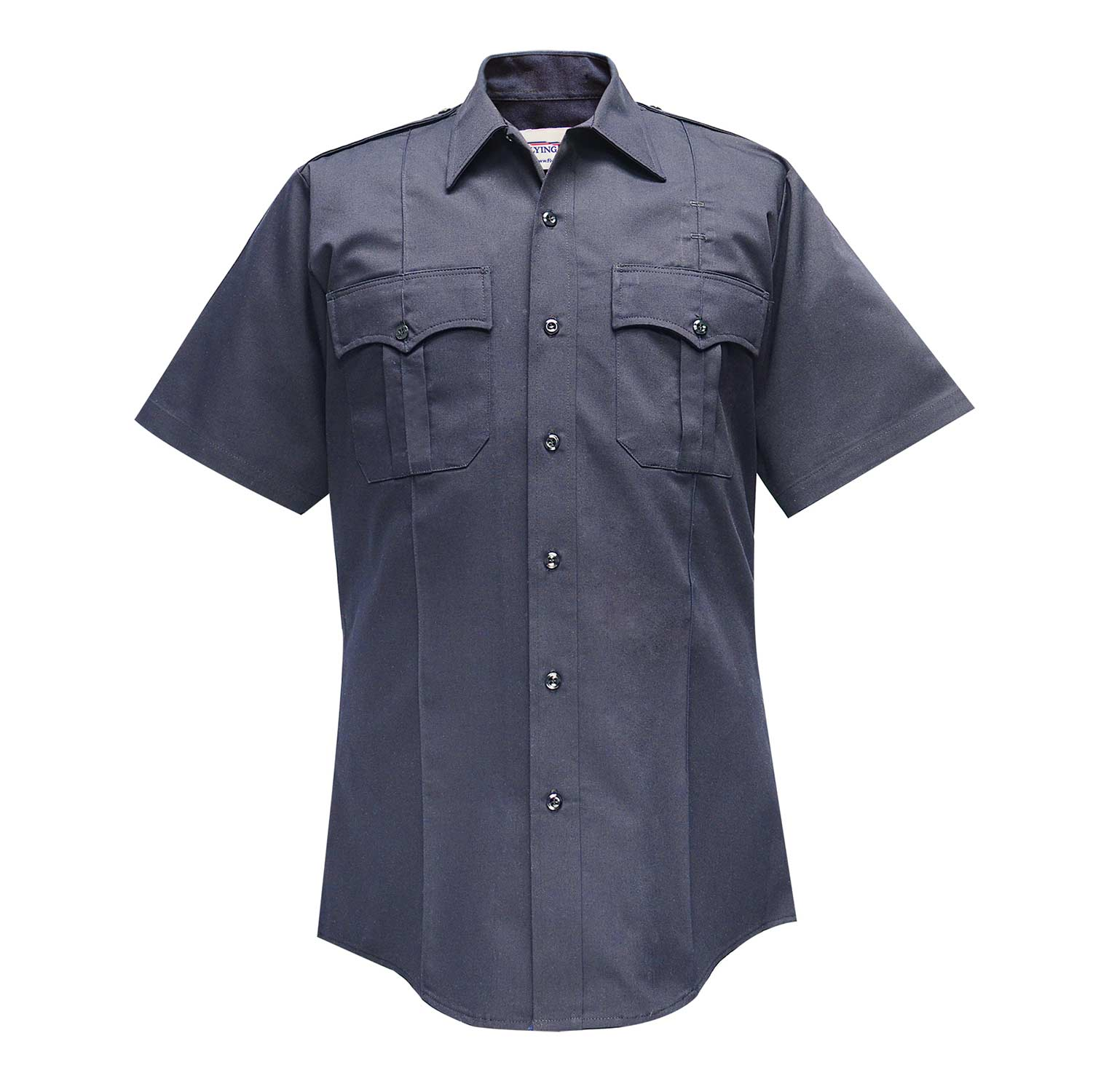 Flying Cross Men's Polyester Cotton Short Sleeve Shirt