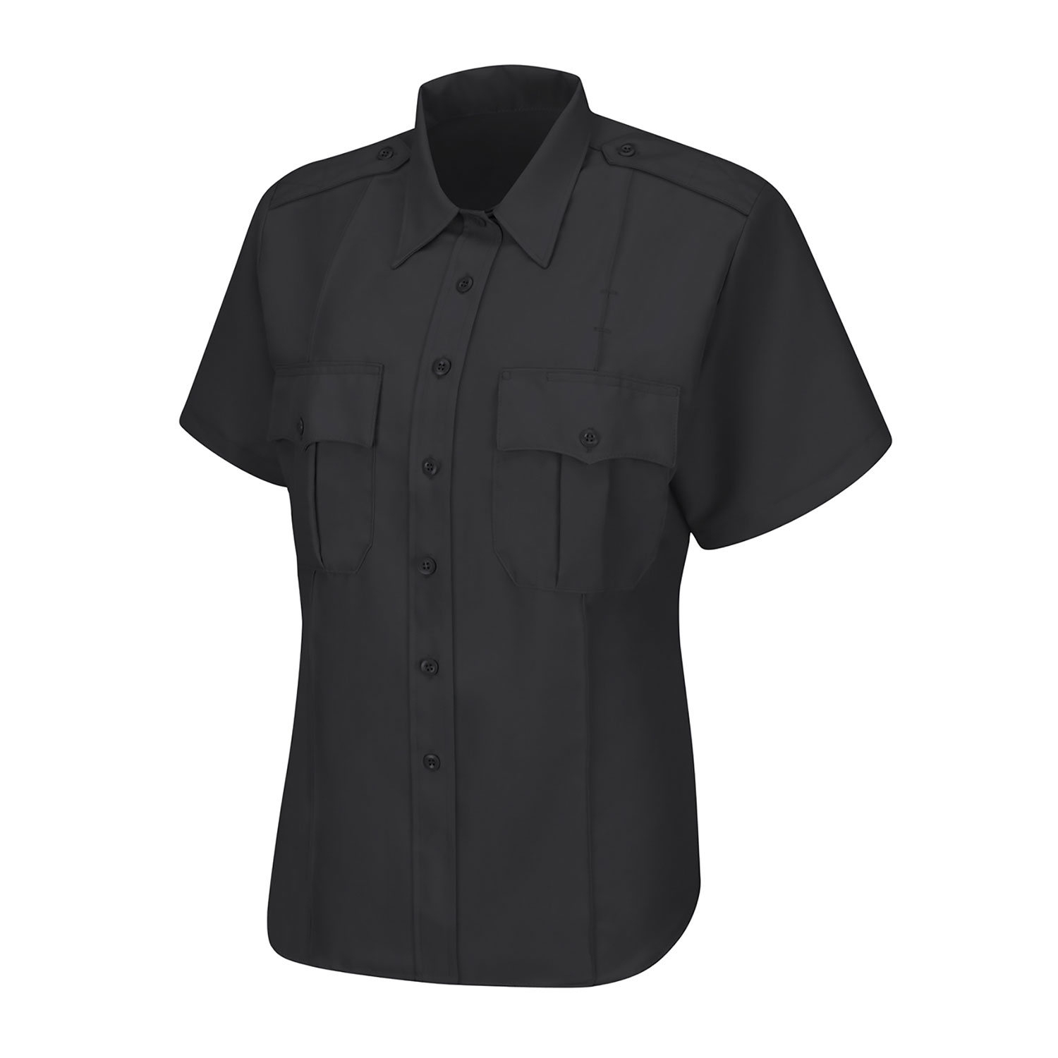 Horace Small Women's Short Sleeve Sentry Zipper Shirt
