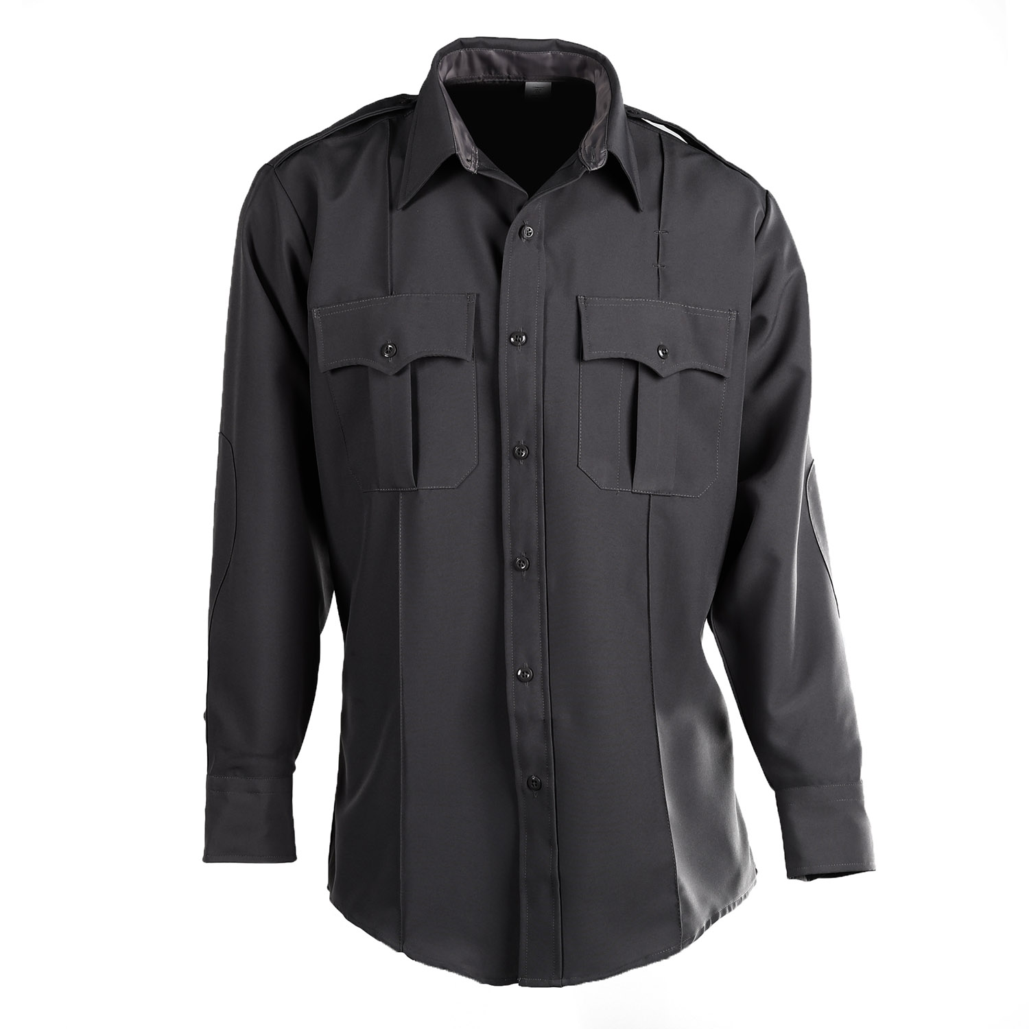 Flying Cross Men's Command Zip Front Long Sleeve Shirt
