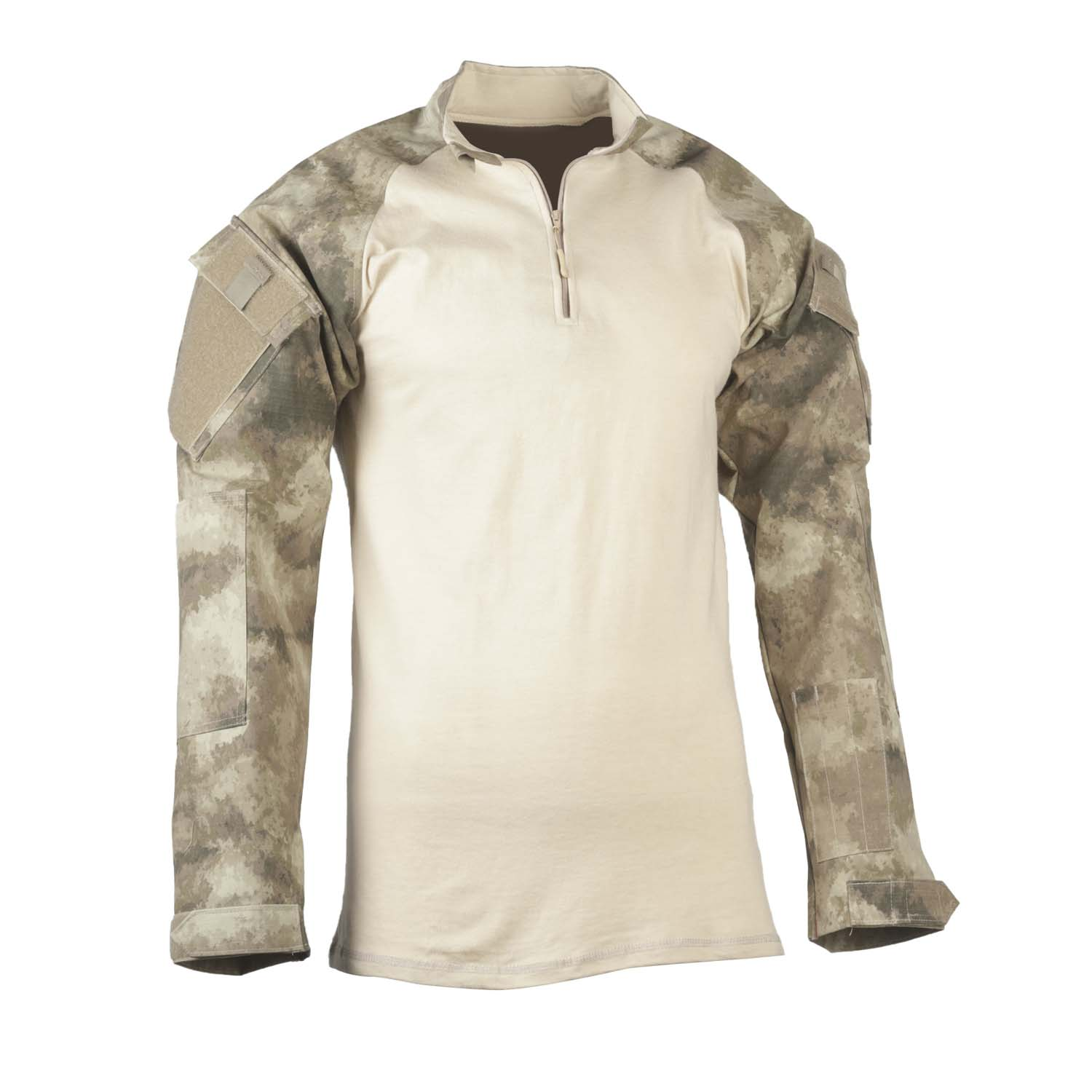 50/50 CORDURA NYLON COTTON RIP 1/4 ZIP COMBAT SHIRT