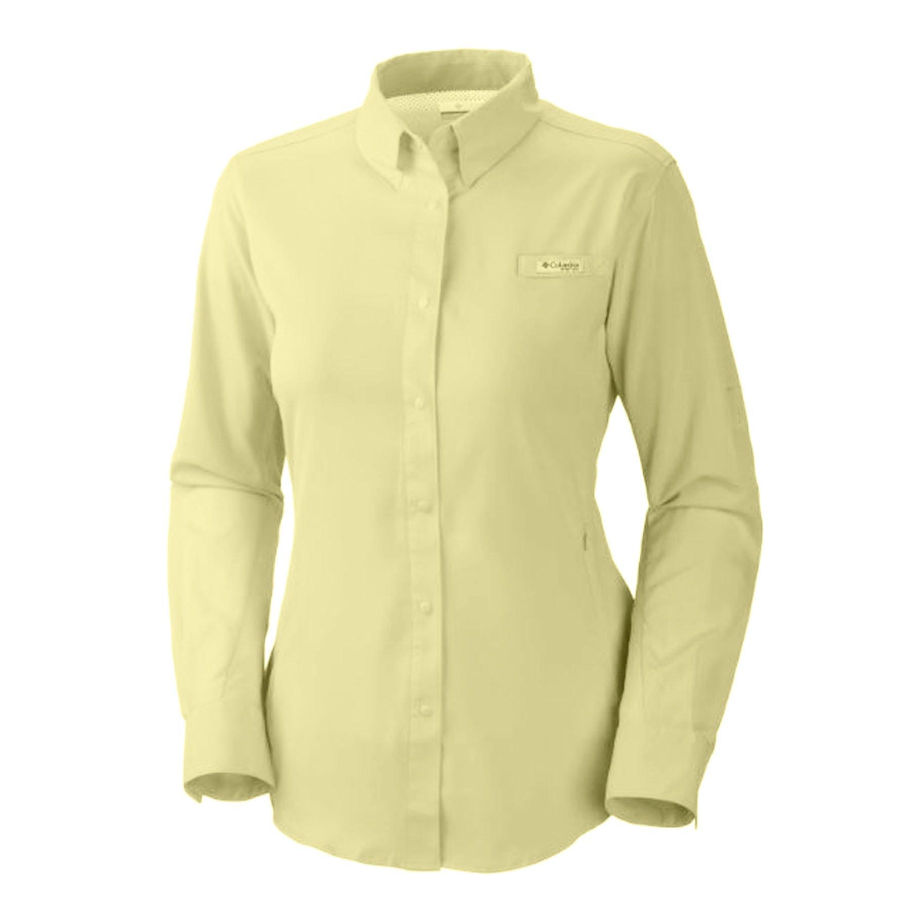 82bf4297743 Columbia Womens PFG Tamiami II Long Sleeve Shirt