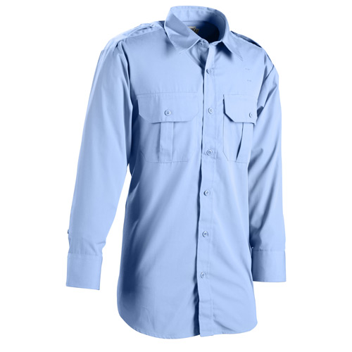 DutyPro Long Sleeve Poly Cotton Traditional Style Shirt