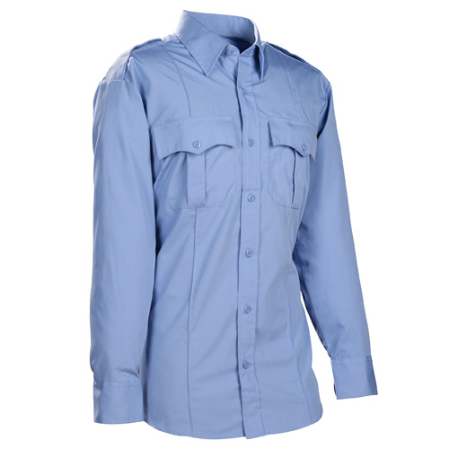 DutyPro Long Sleeve Poly Cotton Military Style Shirt