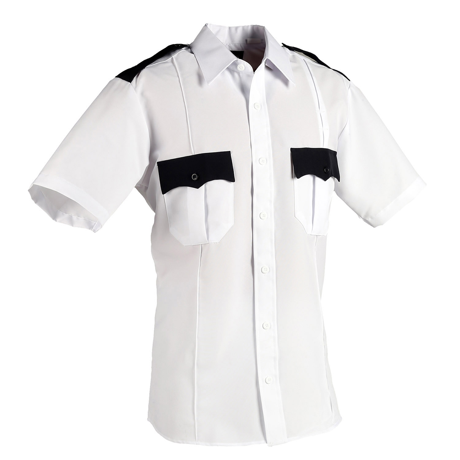 LawPro Polyester Two-Tone Short Sleeve Shirt
