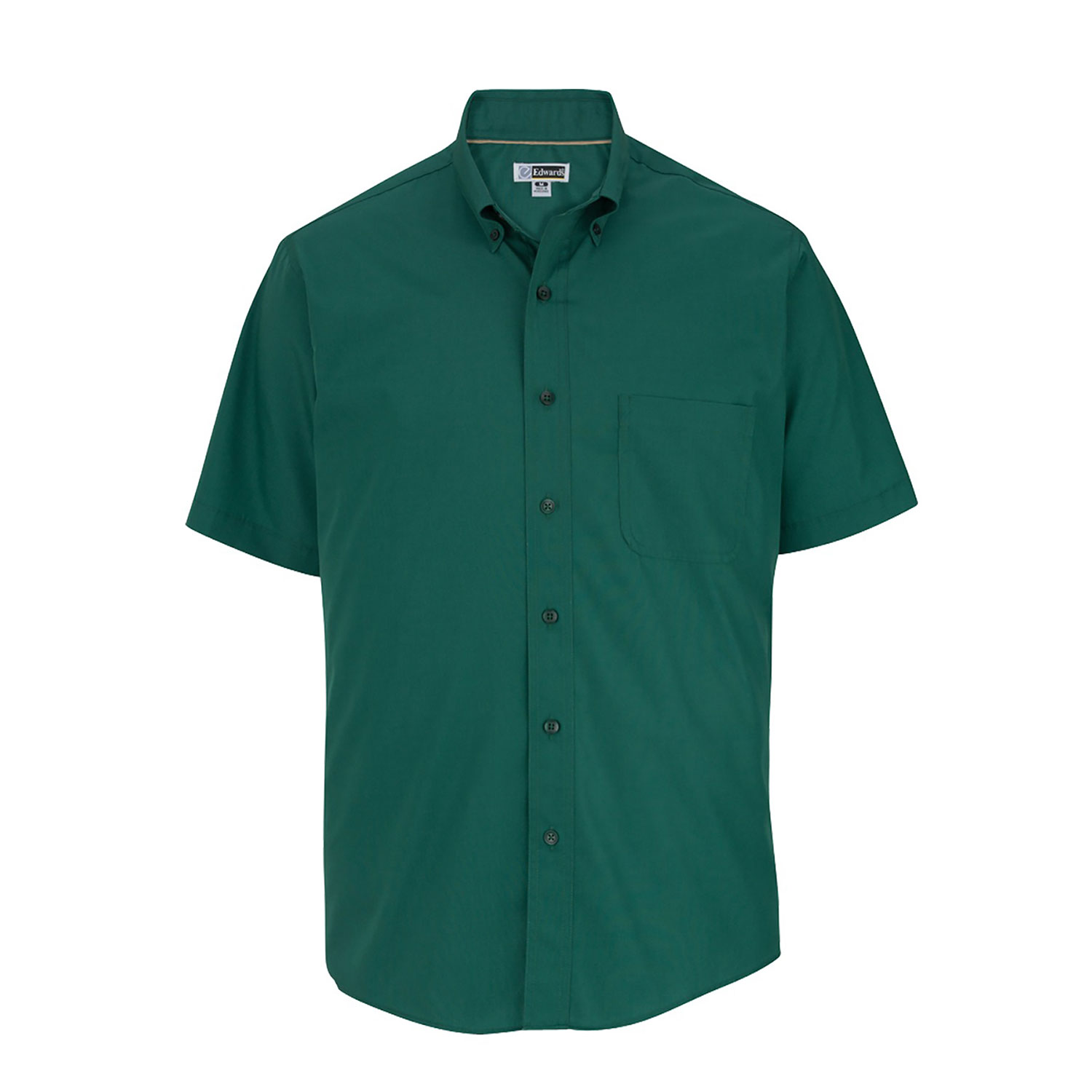 Edwards Poplin Short Sleeve Shirt