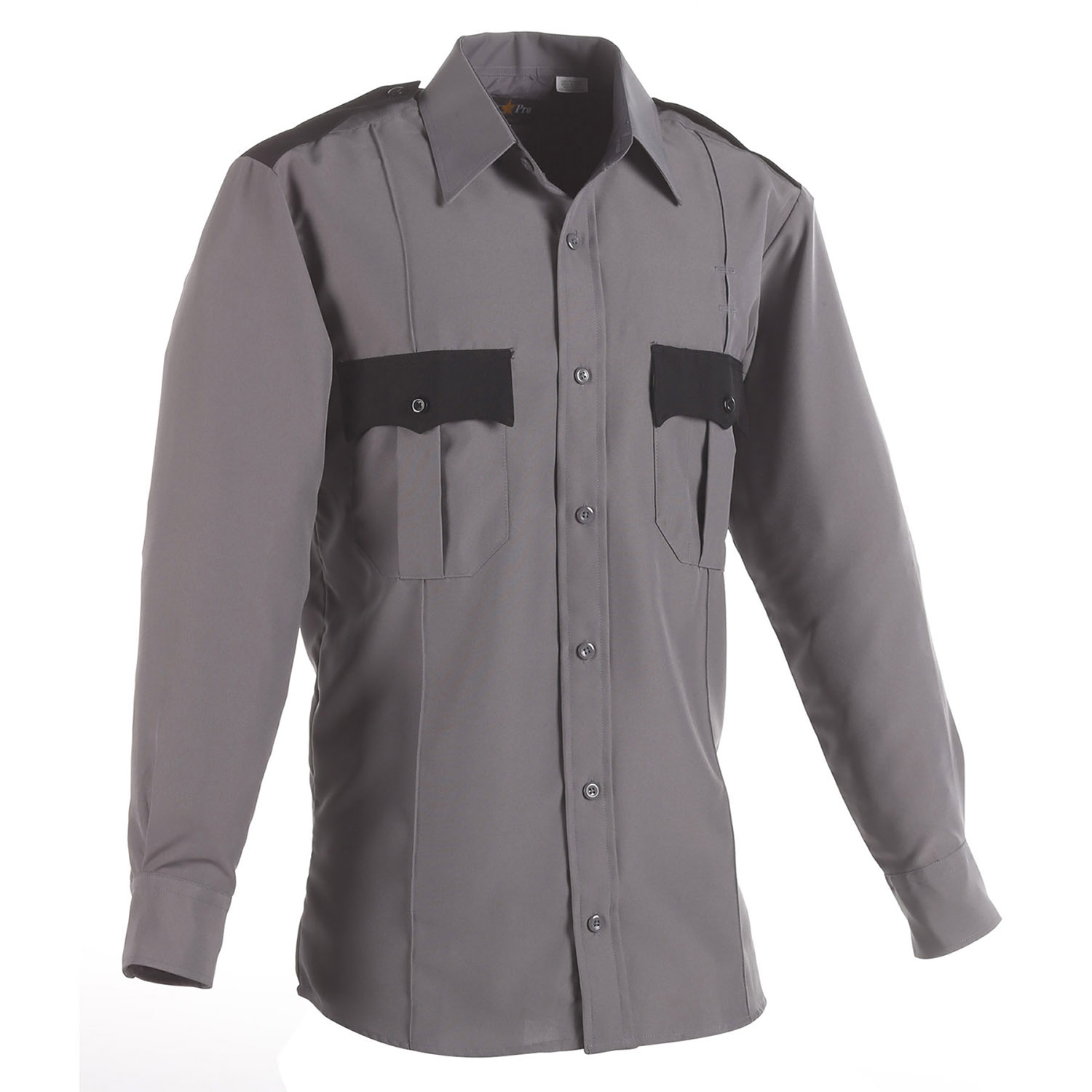 LawPro 100% Polyester TwoTone Long Sleeve Shirt