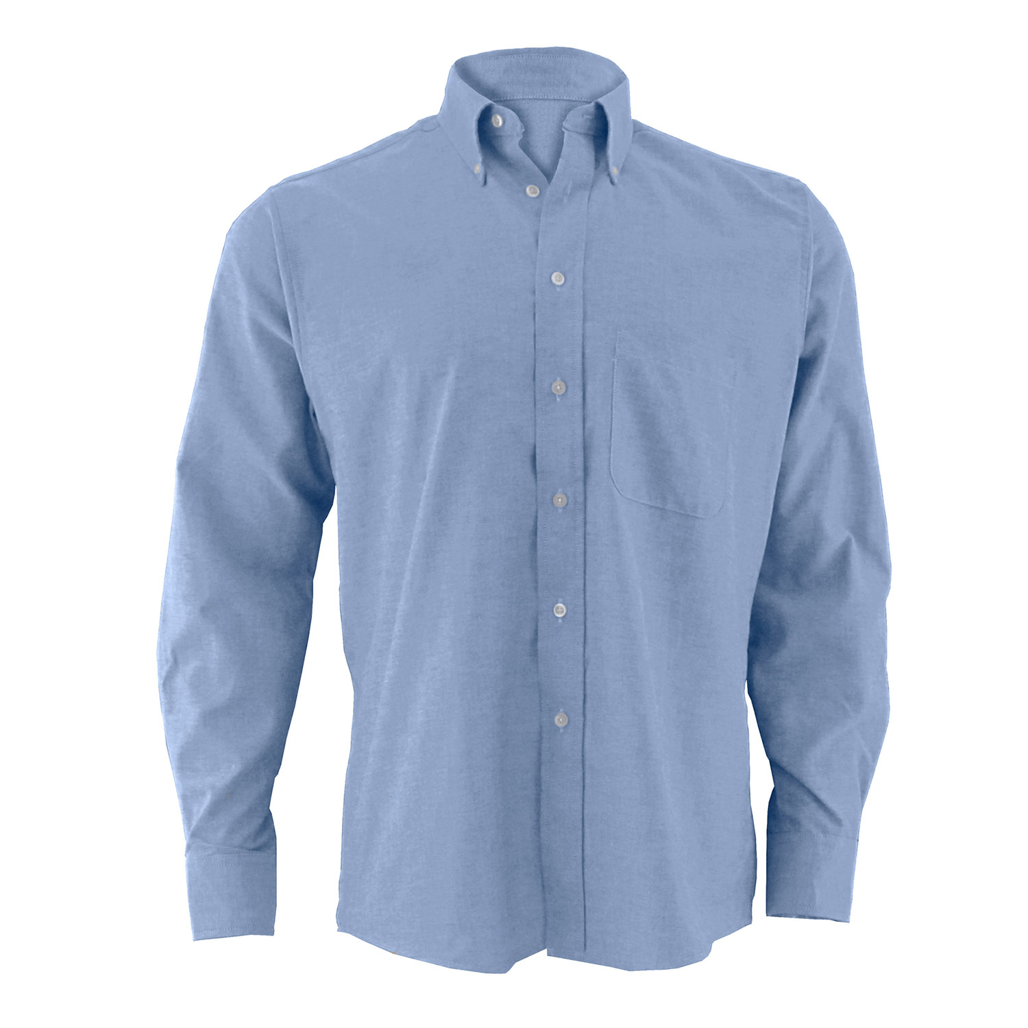 Edwards Men 39 S Long Sleeve Button Down Oxford Shirt
