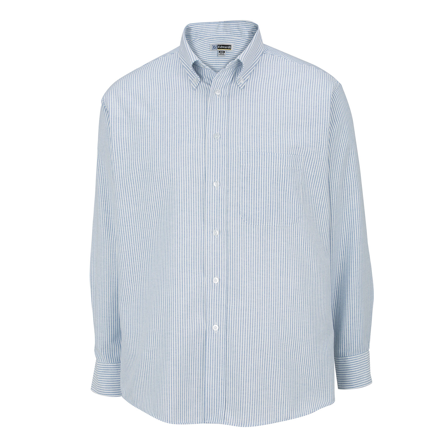 Edwards Mens Long Sleeve Button Down Oxford Shirt