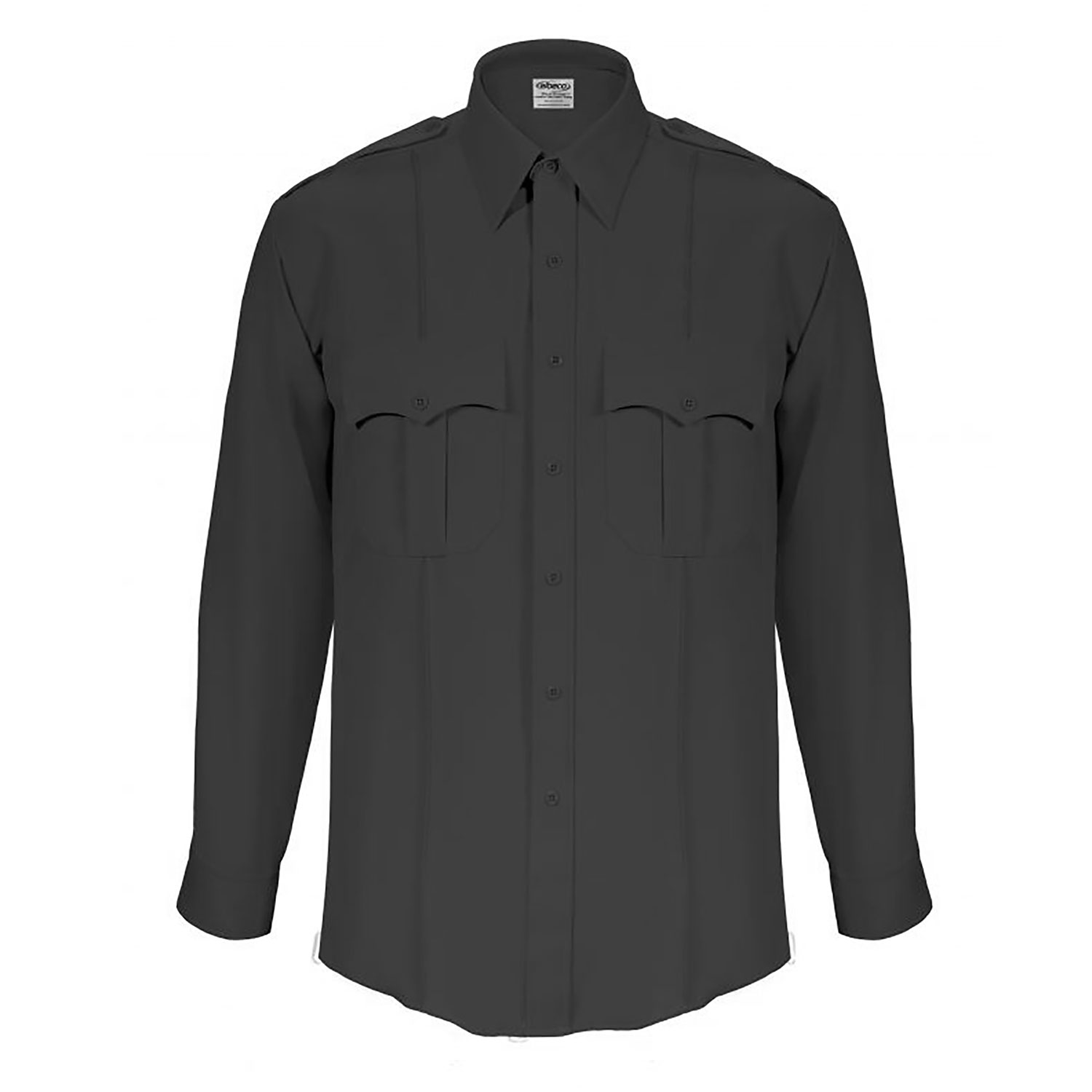 Elbeco Tex Trop Long Sleeve Class Shirt with Zipper