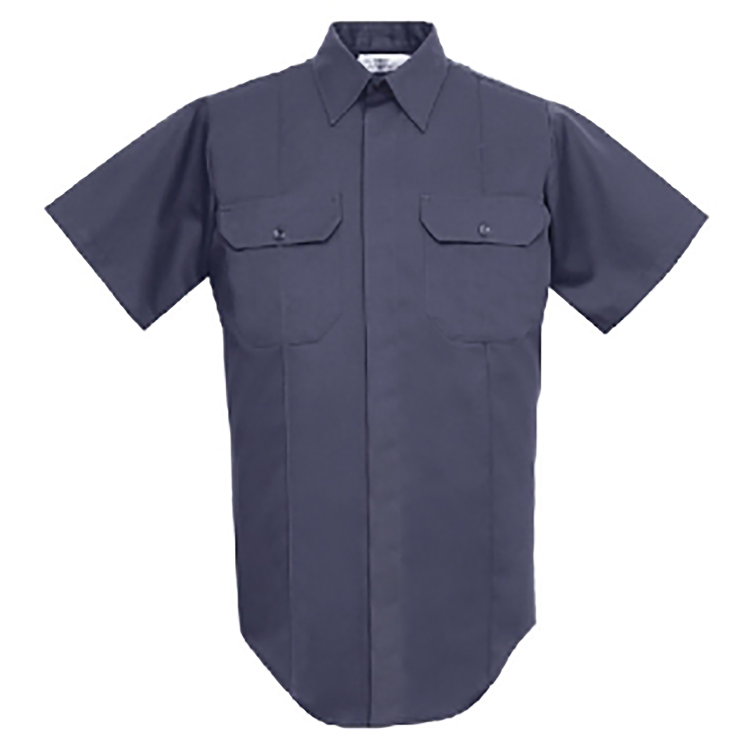 Conqueror Mens Polyester and Cotton Twill Short Sleeve Shirt