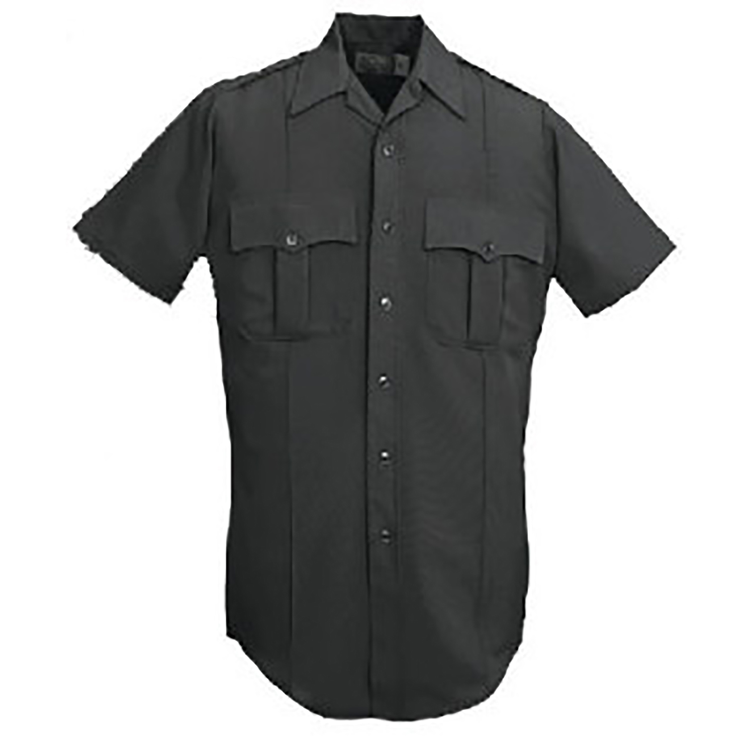 Conqueror Mens Zippered Visa Polyester Short Sleeve Shirt