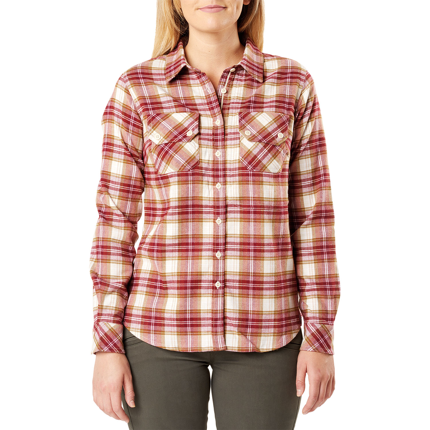 5.11 Hera Long Sleeve Flannel Womens Shirt