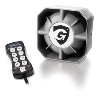 Galls Concealment Speaker and Street Thunder 100W Remote Siren Combo on