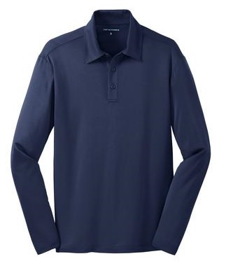 Port Authority Silk Touch Performance Long Sleeve Polo