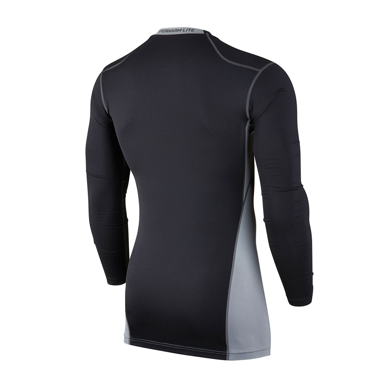 nike men 39 s hyperwarm lite compression shirt. Black Bedroom Furniture Sets. Home Design Ideas